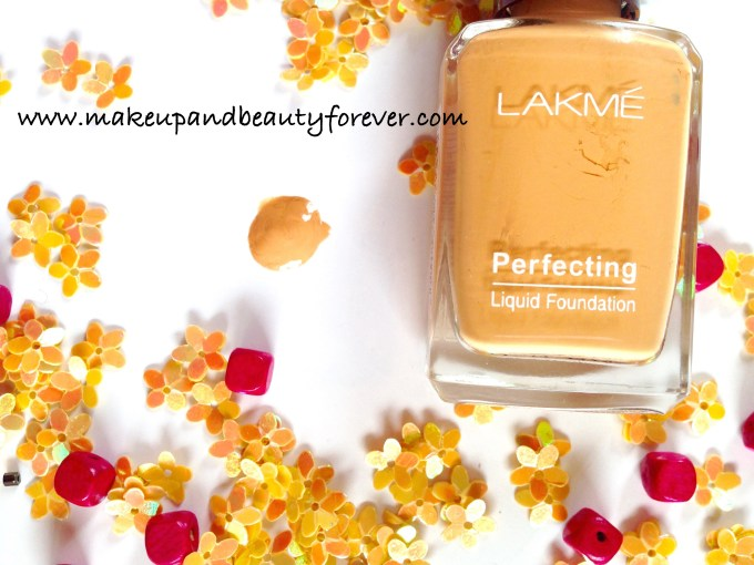 Lakme Perfecting Liquid Foundation Review Swatches Shades Shell India