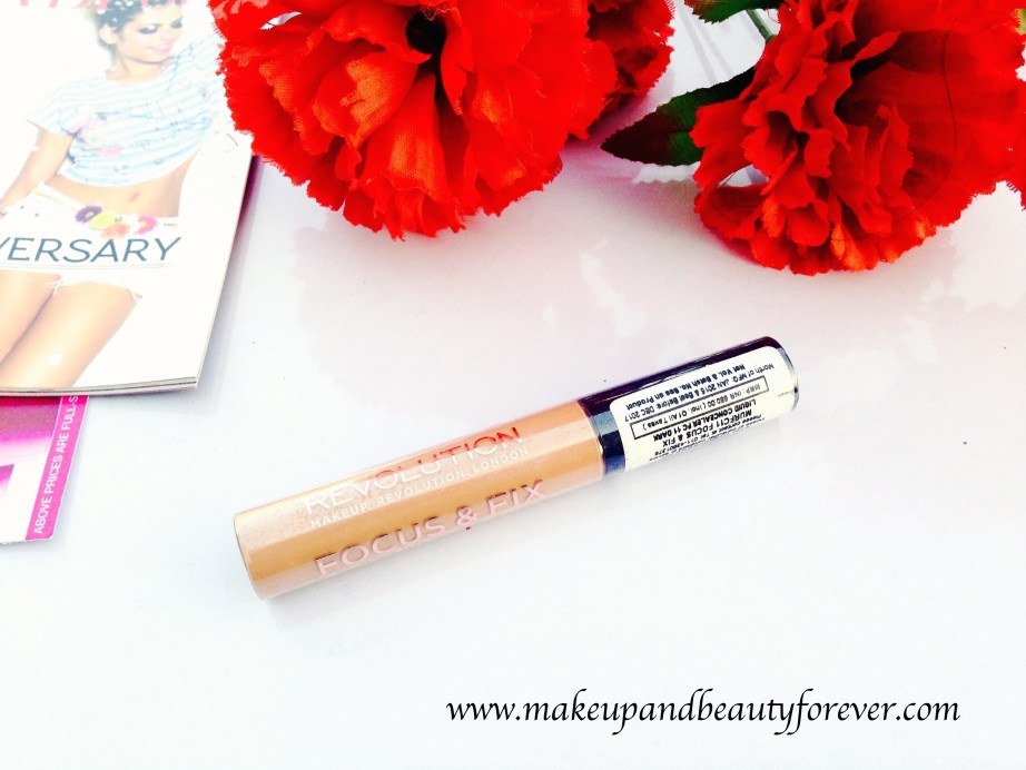 Makeup Revolution Focus and Fix Liquid Concealer