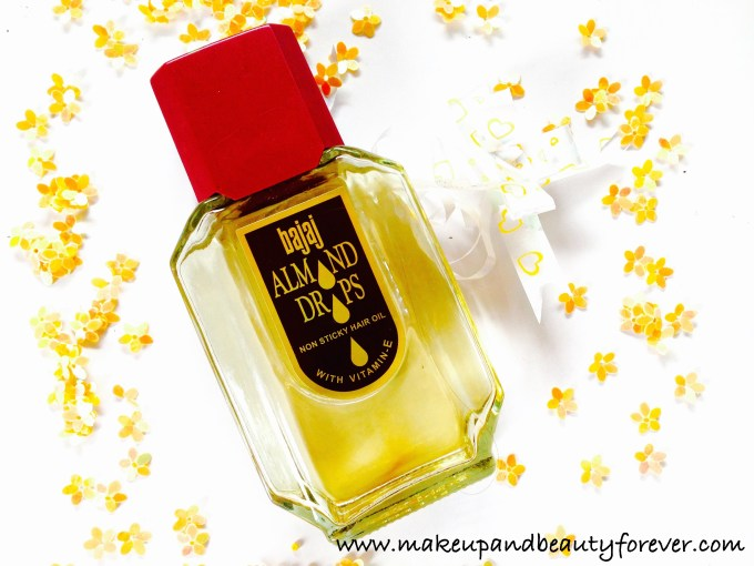 Bajaj Almond Drops Non Sticky Hair Oil with Vitamin E Review India