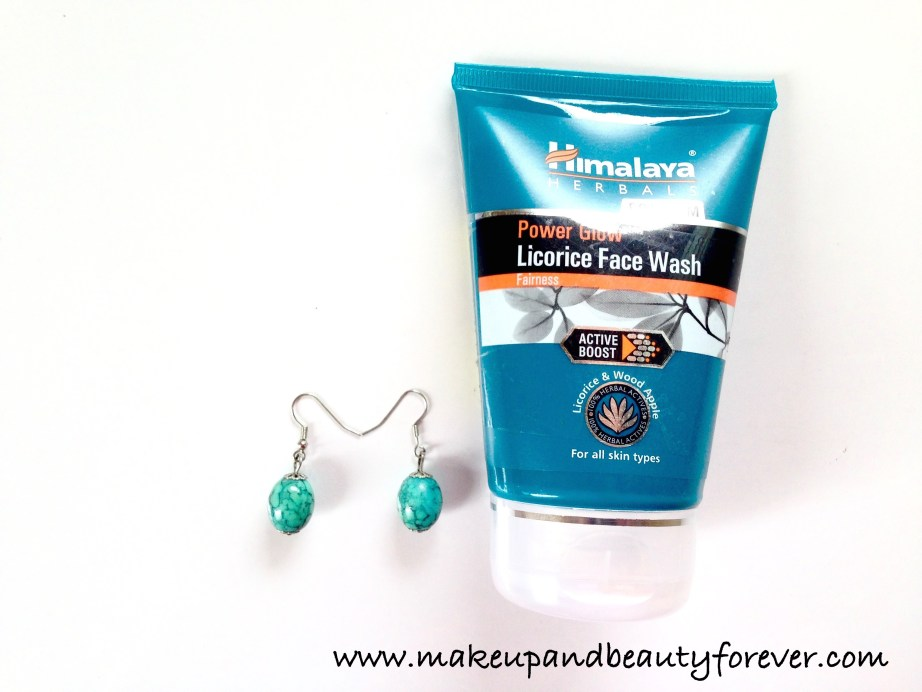 Himalaya Herbals Power Glow Licorice Face Wash Review Price India