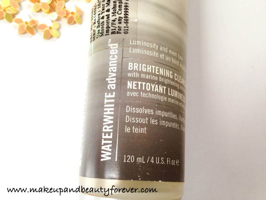 H2O Plus Waterwhite Advanced Brightening Cleanser Review 5