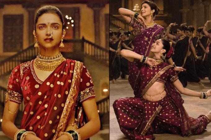 Bajirao Mastani Deepika Padukone dress in Pinga song