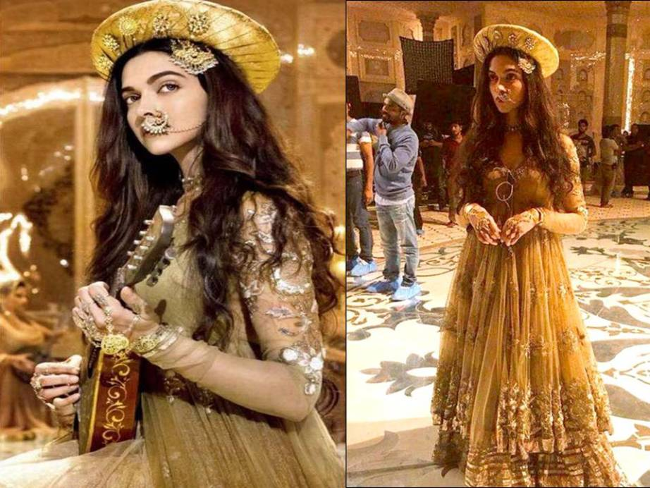 Deepika Padukone as Mastani