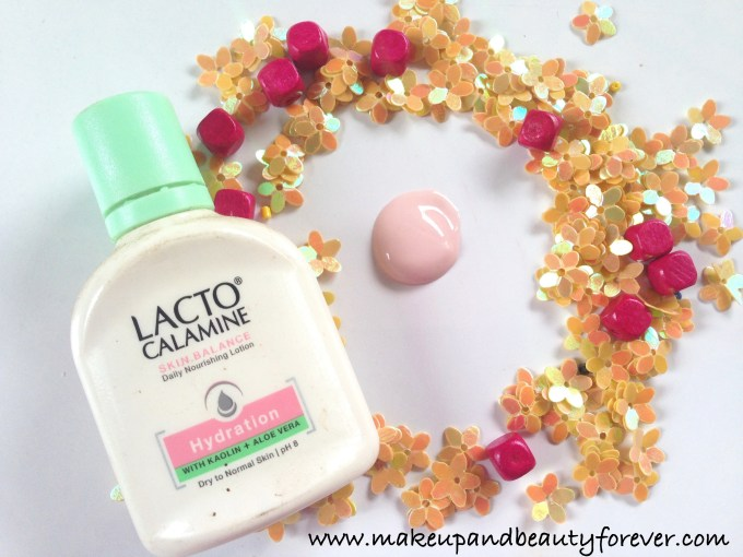 Lacto Calamine Hydration Lotion with Kaolin and Aloe Vera for Dry to Normal Skin Review