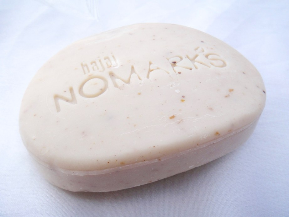 Bajaj NOMARKS Herbal Scrub Soap Review work