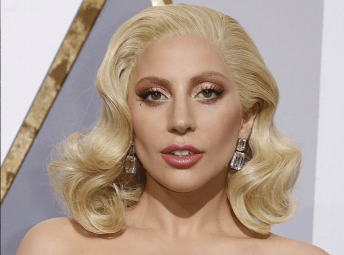 Lady Gaga oscars 2016 brandon maxwell