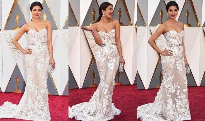 Priyanka Chopra Oscars 2016 dress