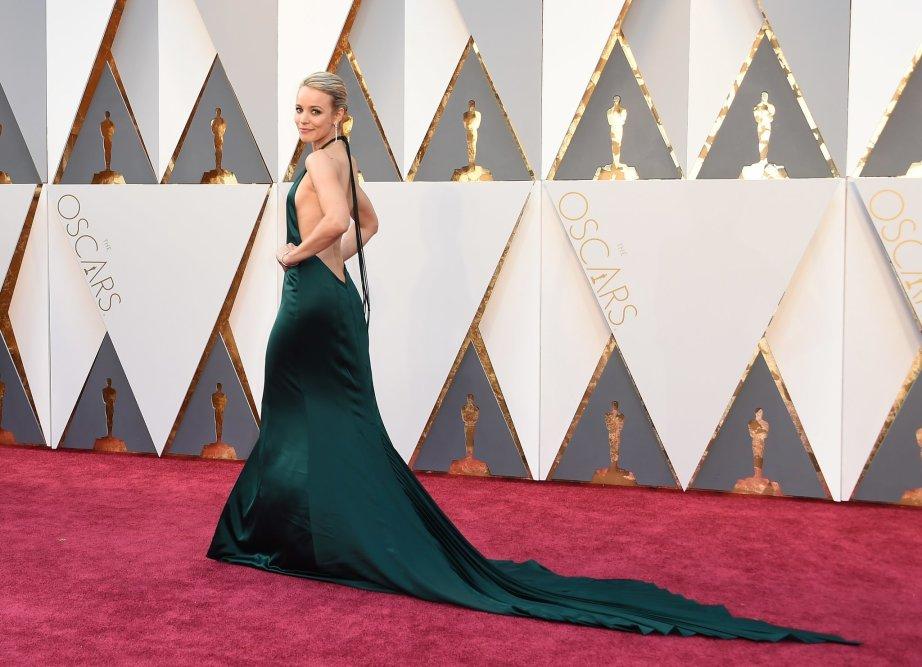 Rachel McAdams Dress Oscars 2016