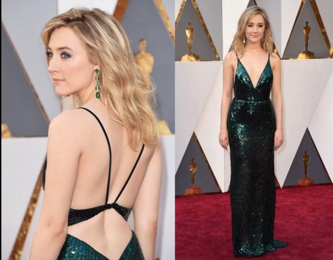 Saoirse Ronan best dress Oscars 2016