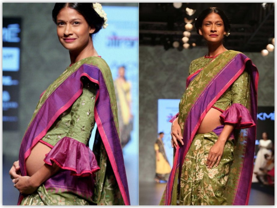 Carol Gracias SuperModel Lakme Fashion Week 2016 Calico by Gaurang Shah