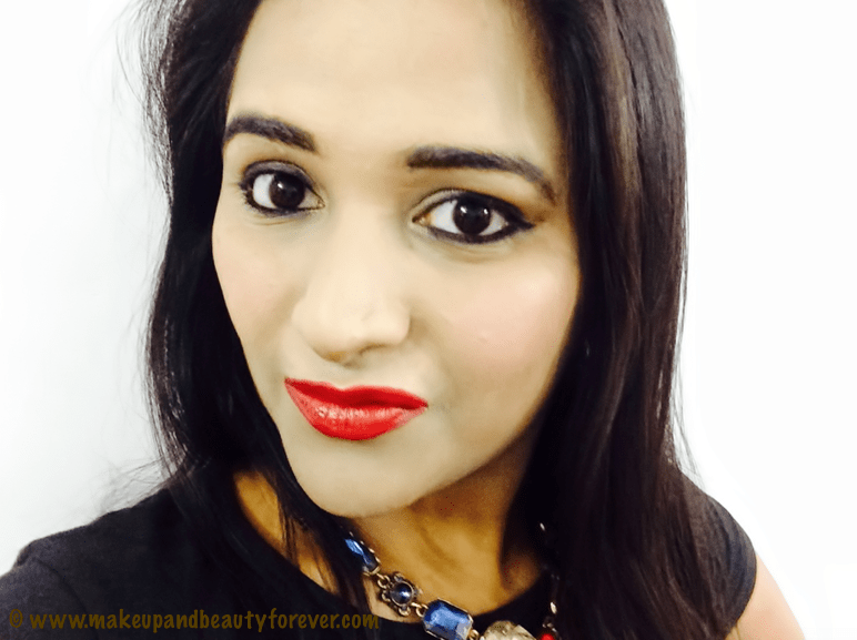 Lakme R352 Enrich Satin Lipstick Review Swatches FOTD Asthambf Astha MBF Astha Goel MakeupandBeauty Forever MBF