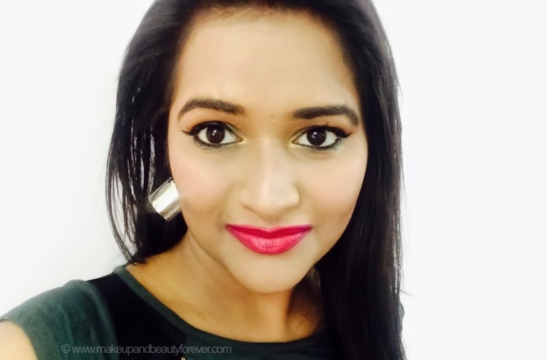 mad magenta pink sugar pout time vivid lipstick Astha mbf