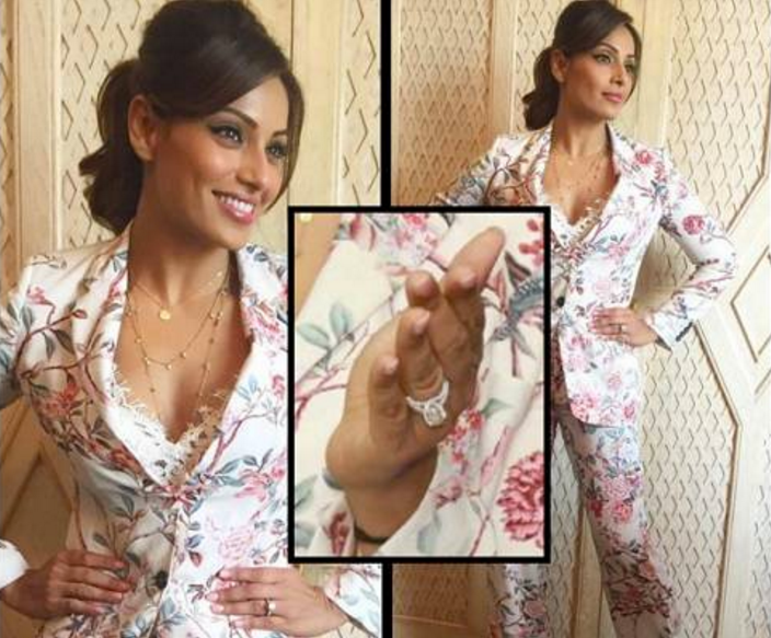 Bipasha Basu Engagement Ring