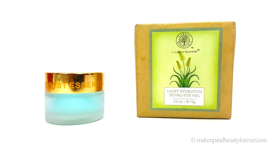 Forest Essentials Light Hydrating Hydra Eye Gel Review