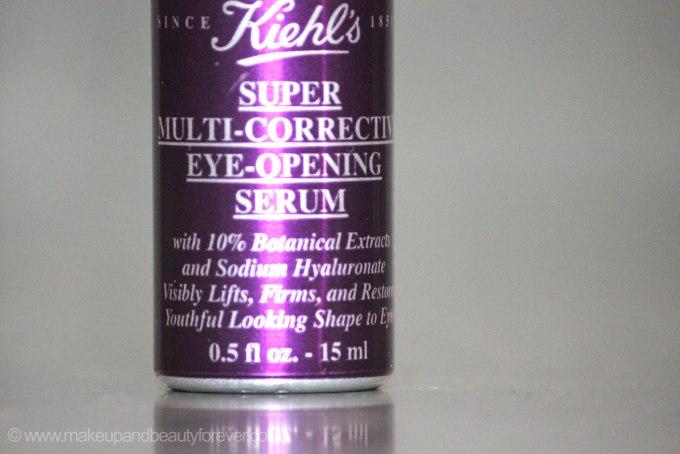 Kiehls Super Multi Corrective Eye Opening Serum Review