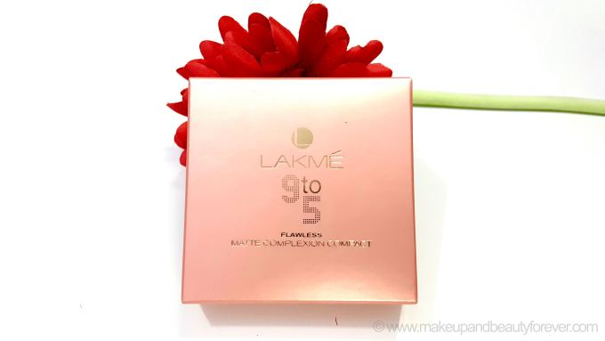 Lakme India Fashion Week 9 to 5 Flawless Matte Complexion Compact Review Shades