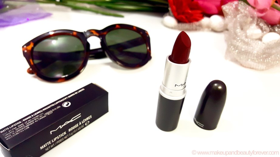 MAC Diva Lipstick Review Photos Swatches Indian Makeup and Beauty Blog