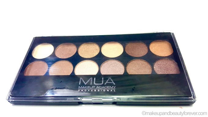 MUA Heaven and Earth Palette Review Swatches Makeup blog