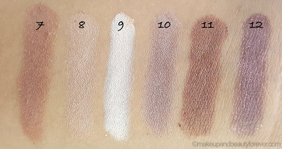 MUA Heaven and Earth Palette Review Swatches UK