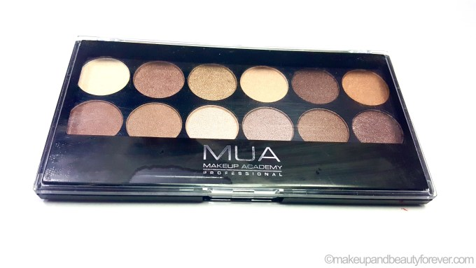 MUA Heaven and Earth Palette Review Swatches makeup beauty blog