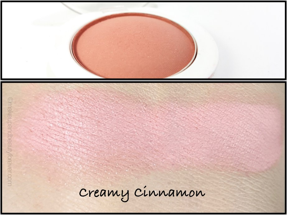 Maybelline Cheeky Glow Blush Creamy Cinnamon Review swatch