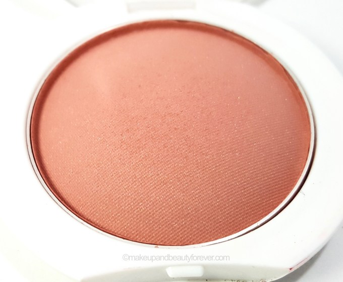 Maybelline Cheeky Glow Blush Creamy Cinnamon close up