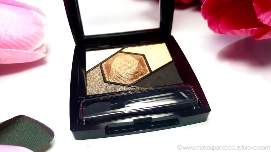 Maybelline Color Sensational Diamonds EyeShadow Palette Topaz Gold Review Swatches photos