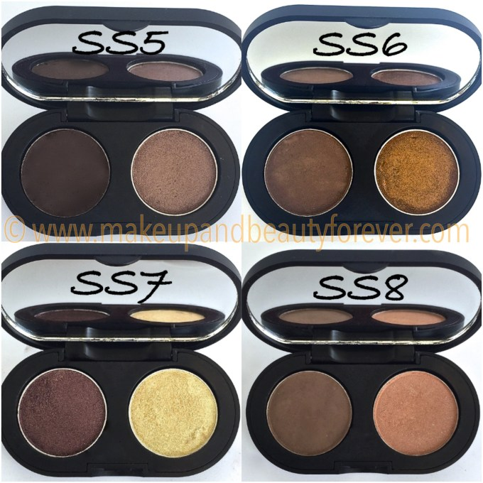 SeaSoul Makeup HD Eye shadow Palette SS5 SS6 SS7 SS8