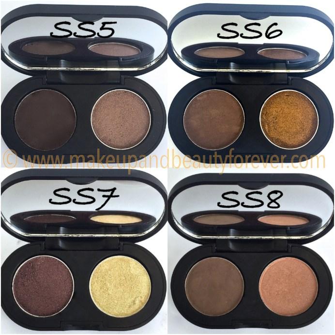 SeaSoul Makeup HD Eye shadow Palette SS5 SS6 SS7 SS8