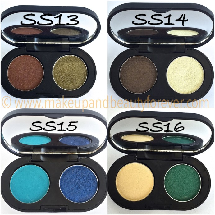 SeaSoul Makeup HD Eyeshadow Palette SS13 SS14 SS15 SS16