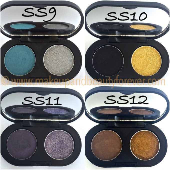 SeaSoul Makeup HD Eyeshadow Palette SS9 SS10 SS11 SS12