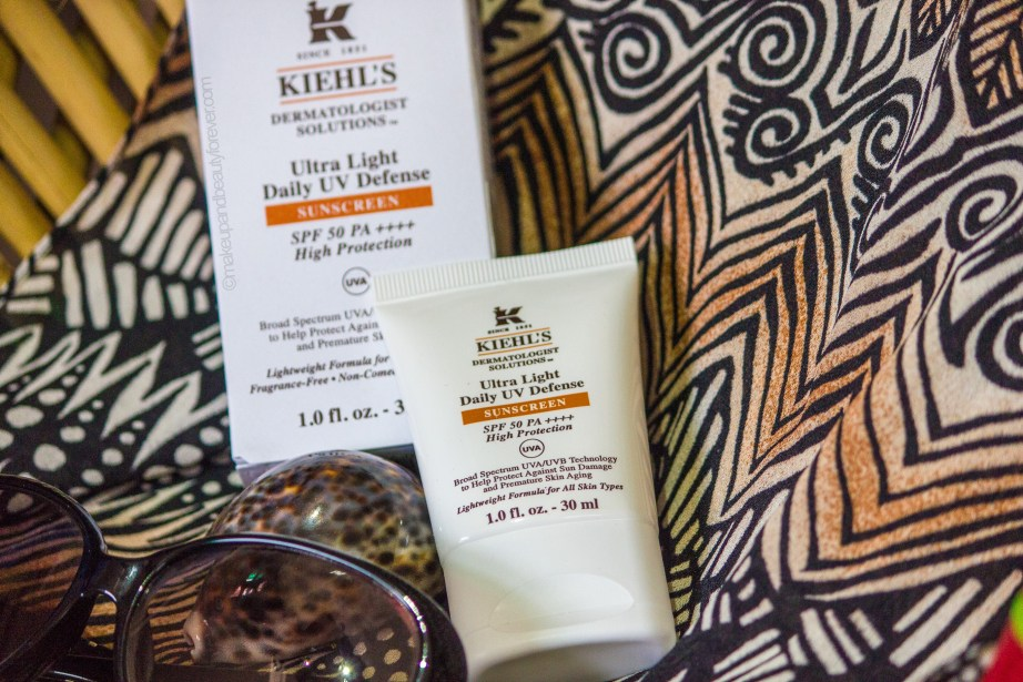 Kiehl's Ultra Light Daily UV Defense Sunscreen SPF 50 PA++++ Review mbf