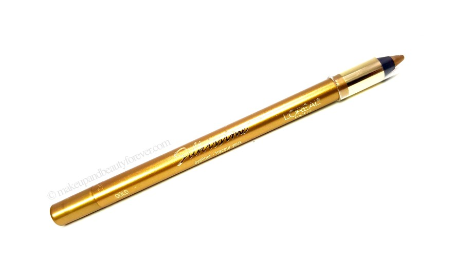 LOreal Infallible Silkissime Eyeliner Gold Review Swatches Images