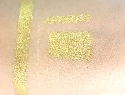 L'Oreal Silkissime Eyeliner Gold Review Swatches