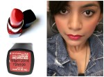 Maybelline Color Show Big Apple Red Lipstick Dare To Be Red M 210 Review, Swatches
