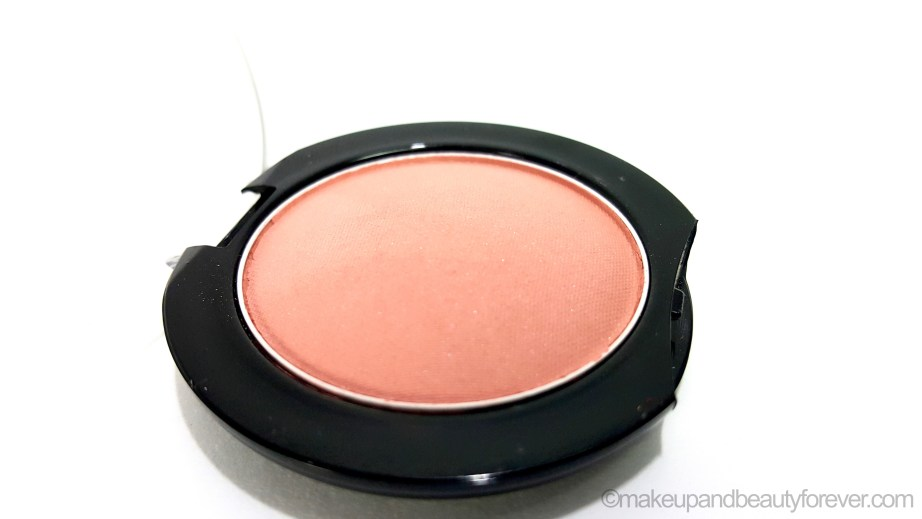 Maybelline Color Show Blush Creamy Cinnamon Review Swatch