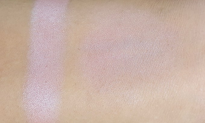 Maybelline Fit Me Blush Medium Nude 208 Review Swatches on medium skin tone