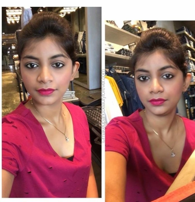 Maybelline Lip Gradation Pink 2 Review Swatches pooja chaurasia