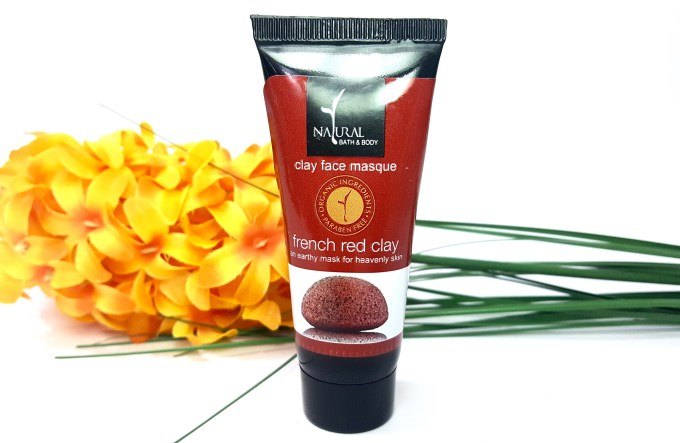 Natural Bath & Body French Red Clay Face Mask Review
