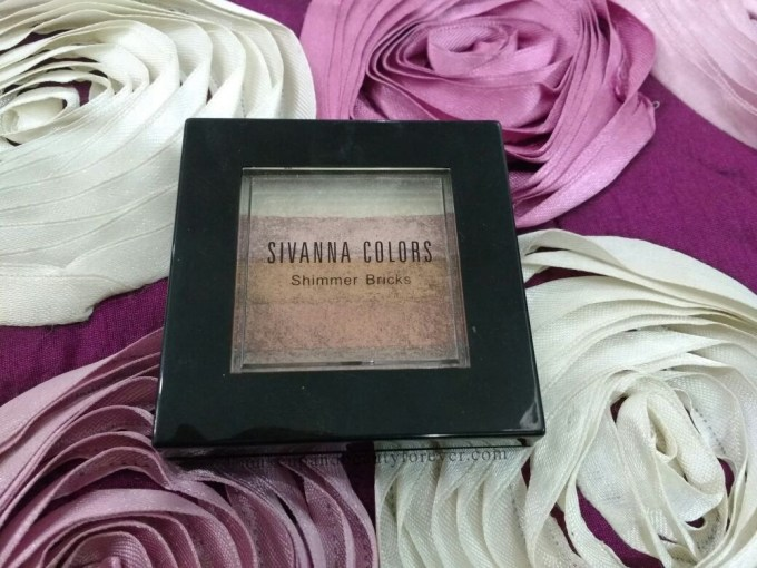 Sivanna Shinning Star Shimmer Brick Review Swatches