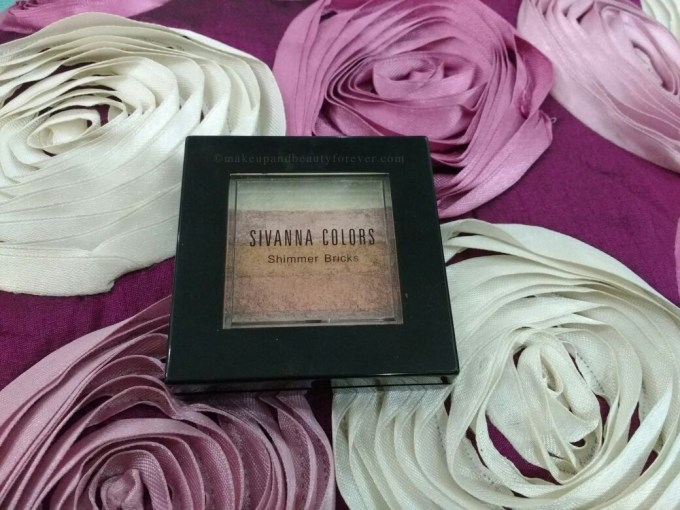 Sivanna Shinning Star Shimmer Brick Review, Swatches