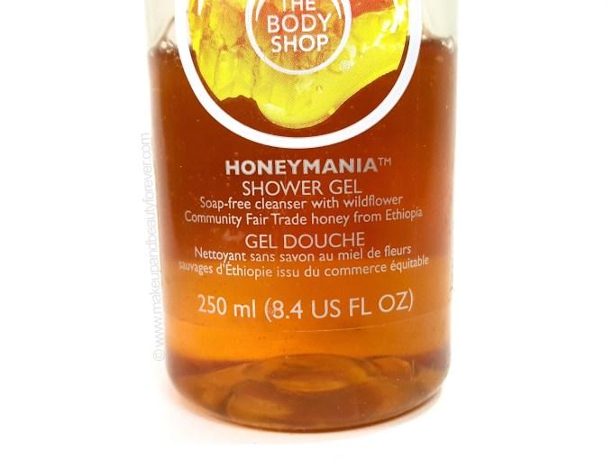 The Body Shop Honeymania Shower Gel Review mbf blog