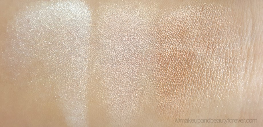 theBalm Manizer Sisters Mary Cindy Betty Lou Manizer Palette Review swatch blended