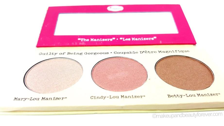 theBalm Manizer Sisters palette Mary Cindy Betty Lou Manizer