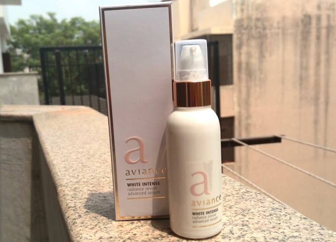 Aviance White Intense Radiance Revive Advanced Serum Review swatches