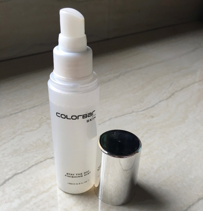 Colorbar Skin Stay the Day Finishing Mist Review mbf blog
