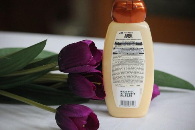 Garnier Ultra Blends Royal Jelly & Lavender Anti Hairfall Shampoo Review MBF Beauty blog