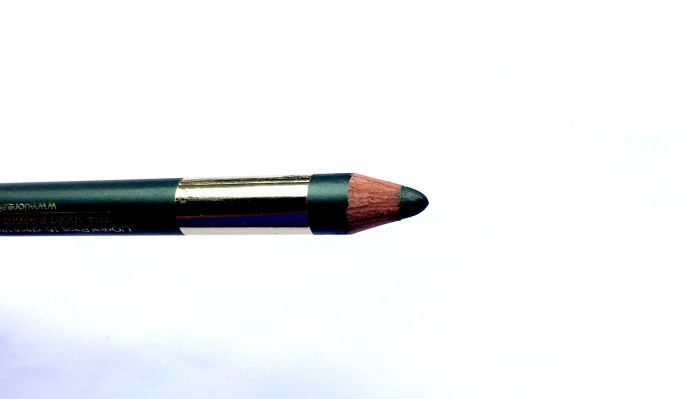 L'Oreal Color Riche Le Smoky Pencil Eyeliner Antique Green 209 Review Swatches near
