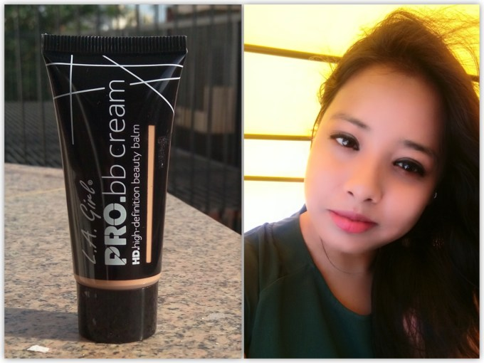 L.A. Girl HD Pro BB Cream Review Swatches on Face