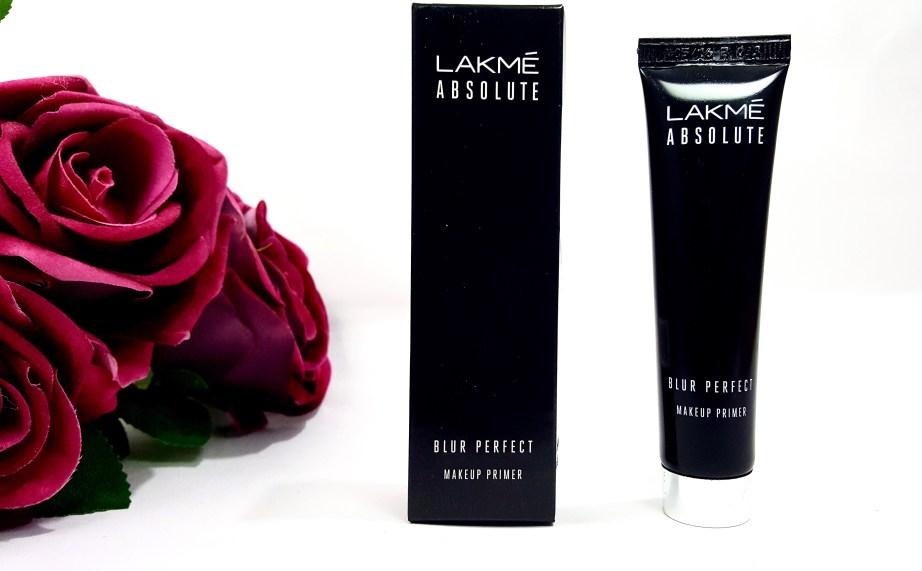 Lakme Absolute Blur Perfect Makeup Primer Review